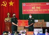 Hỗ trợ vật tư chống COVID-19 cho Bộ đội Biên phòng An Giang
