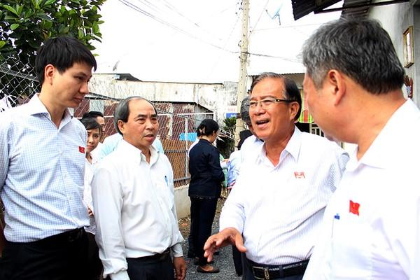 Ban Đô thị HĐND TP.HCM giám sát nước sạch tại quận 12