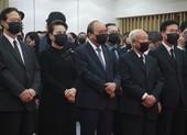 Lãnh đạo Đảng, Nhà nước đến viếng ông Trương Vĩnh Trọng