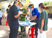 Nhiệt huyết của lực lượng tình nguyện chống dịch ở TP.HCM