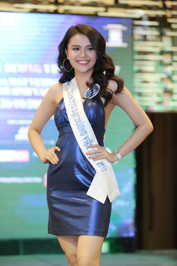 Thí sinh Nguyễn Thị Diệu Thùy là một trong những ứng cử viện nặng ký cho ngôi vị Hoa hậu Đại Dương.