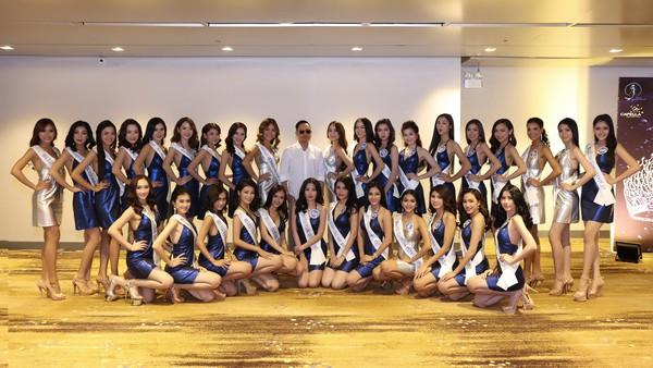 Top 33 Hoa hậu Đại Dương đã có mặt tại TP.HCM để chuẩn bị cho đêm chung kết.