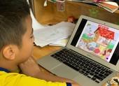 TP.HCM: Học sinh học online để hoàn thành chương trình