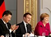 Ông Tập điện đàm với bà Merkel, ông Macron về thỏa thuận đầu tư TQ-EU