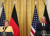 Ông Biden tiếp bà Merkel tại Nhà Trắng, có phần bất đồng về Nga, Trung Quốc