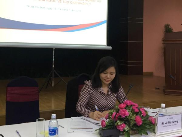 Hội thảo góp ý dự thảo Thông tư trợ giúp pháp lý