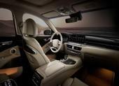 Kia K9 lộ nội thất với màn hình lớn, xác thực vân tay