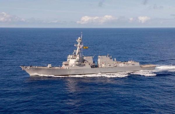tàu khu trục Mỹ USS Spruance