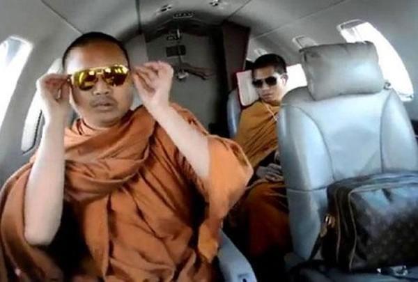 nhà sư sành điệu Thái Lan bị bắt