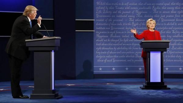 trump và hillary tranh luận