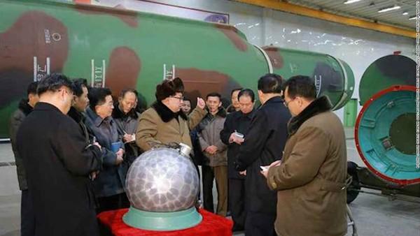 đầu đạn hạt nhân Triều Tiên