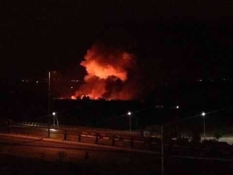 israel dội bom sân bay Syria