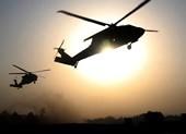 Nghi 3 trực thăng Mỹ di tản thủ lĩnh IS ở Syria