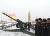 Video ông Putin đích thân khai hỏa lựu pháo mừng Giáng sinh