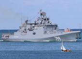 Nga điều tàu chiến mang tên lửa Kalibr tới gần Syria
