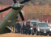 Ông Trump không đến DMZ gần Triều Tiên vì sương mù