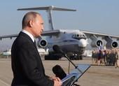 Tổng thống Putin thăm Syria, lệnh rút quân về nước