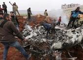 Trực thăng của quân đội Syria trúng tên lửa, không ai sống sót