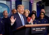 Ông Trump: Chớ tụ tập trên 10 người, COVID-19 có thể kéo dài