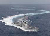 Trung Quốc bám đuôi tàu chiến Mỹ ở eo biển Đài Loan