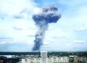 Ba vụ nổ liên tiếp phá hủy nhà máy thuốc nổ ở Nga