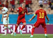 Biến Bồ Đào Nha thành cựu vương, Bỉ gặp Ý ở tứ kết Euro 2020