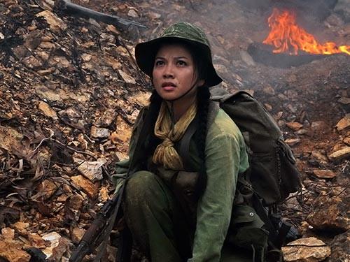 Tăng Bảo Quyên trong phim Những người viết huyền thoại Ảnh: HÃNG PHIM TRUYỆN VIỆT NAM