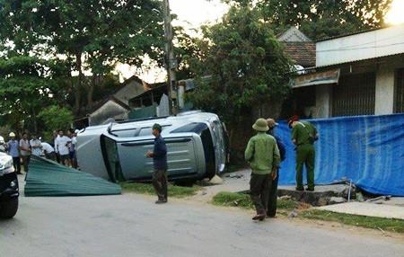 Hiện trường vụ tai nạn nghiêm trọng khiến 2 cụ bà thiệt mạng
