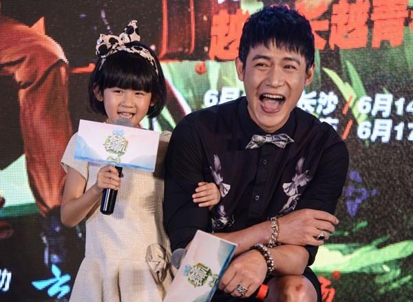 Hiện tại, Lục Nghị và cô con gái 5 tuổi tham gia chương trình Bố ơi mình đi đâu thế? phiên bản Trung Quốc mùa thứ 2.