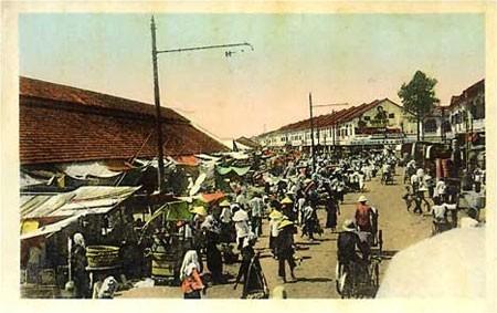 Khu vực chợ Cầu Kho, nơi Jacqueline một thời ngang dọc.