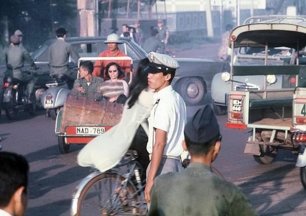 Khu vực quận 1 Sài Gòn trước năm 1975.