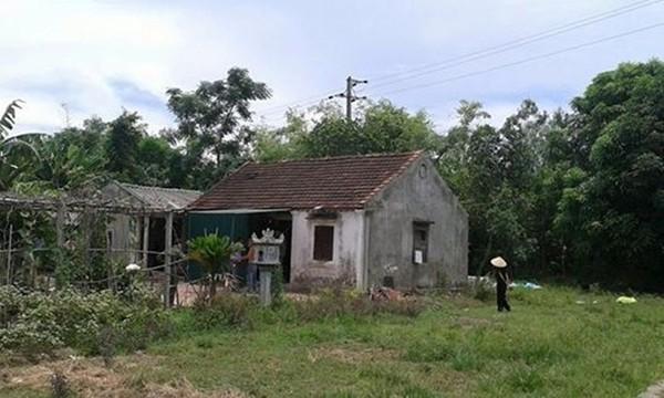 Ngôi nhà nơi bà Minh đang ở.