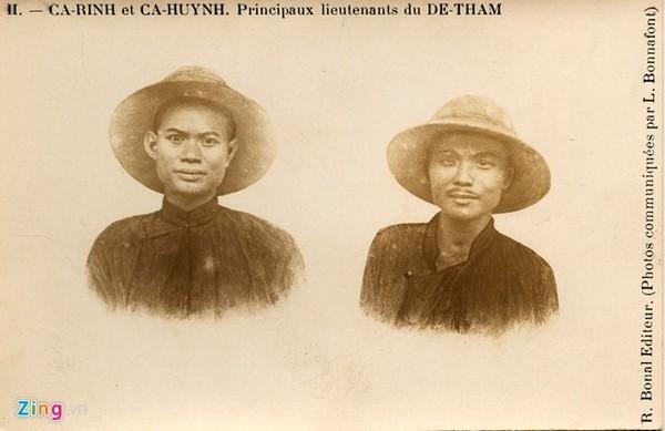 Một bức ảnh hiếm về 2 người con của Hoàng Hoa Thám, Cả Rinh và Cả Huỳnh.