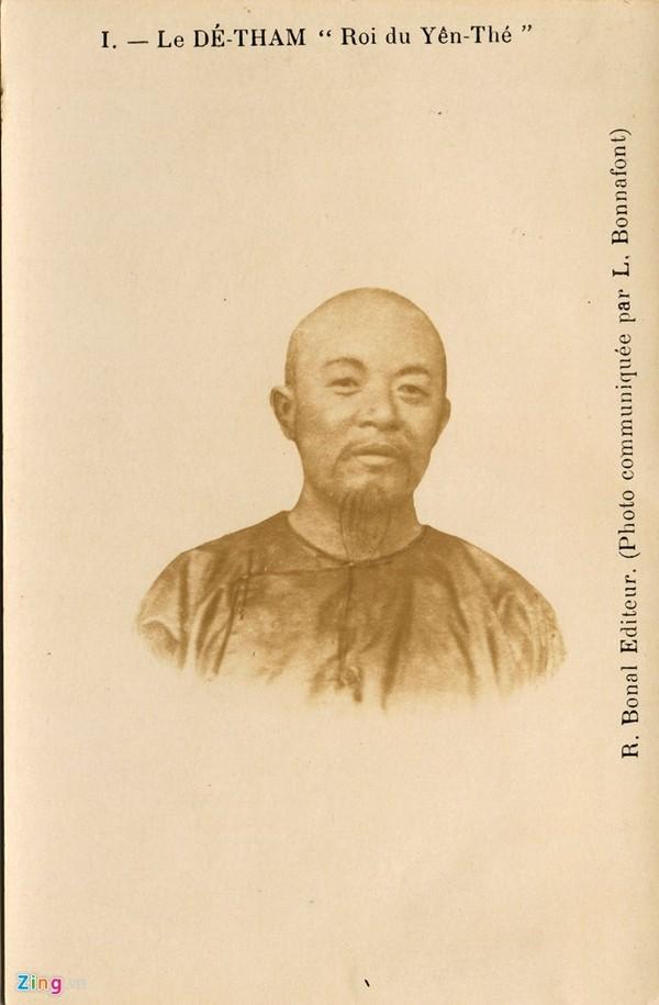 Bưu ảnh hiếm chân dung Hoàng Hoa Thám.
