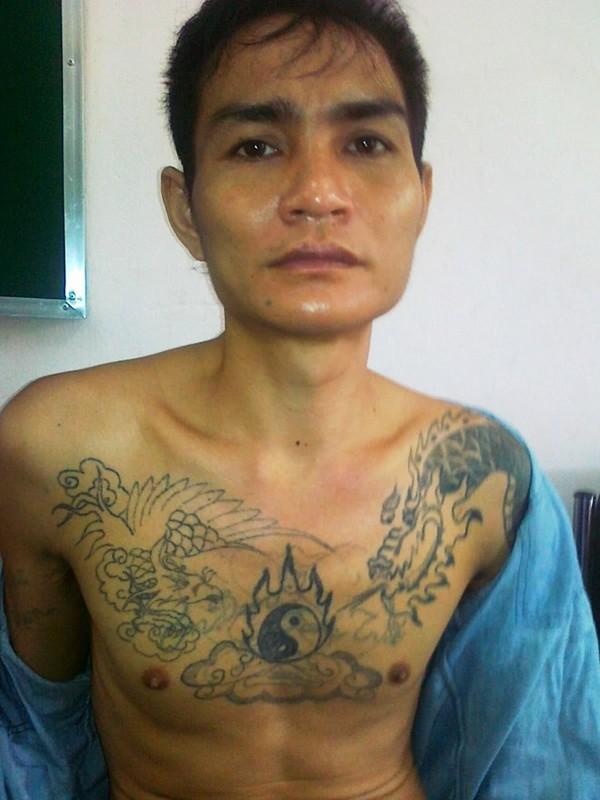 Lô Văn Bình tại cơ quan điều tra.