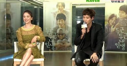 Song Hye Kyo và Kang Dong Won trò chuyện về việc quay phim điện ảnh My Brilliant Life