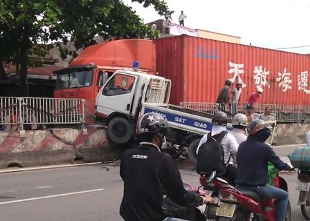 Hiện trường vụ tai nạn hy hữu