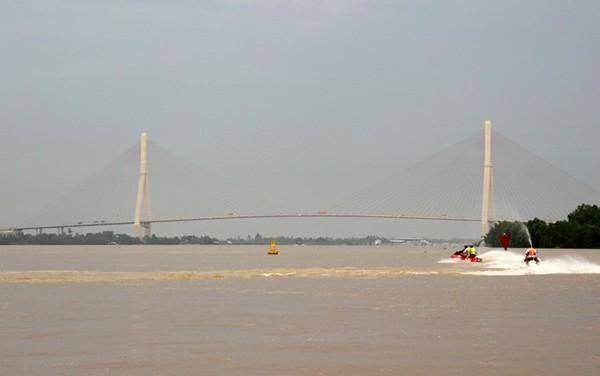 Cần Cần Thơ là cầu dây văng dài nhất Đông Nam Á