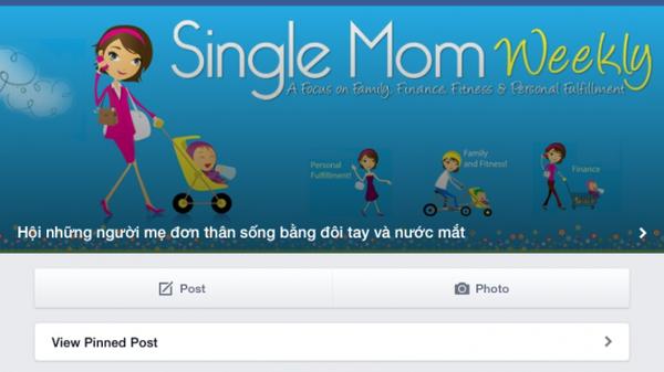 """Facebook """"Hội những bà mẹ nuôi con bằng đôi tay và nước mắt"""" - ngôi nhà ảo đầy tình yêu thương của những bà mẹ đơn thân trên mạng - Ảnh: Lê Vân"""