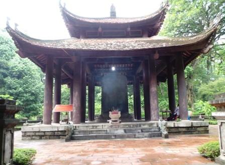 Bia Vĩnh Lăng Lam Kinh đã được Thủ tướng Chính phủ công nhận là Bảo vật quốc gia.