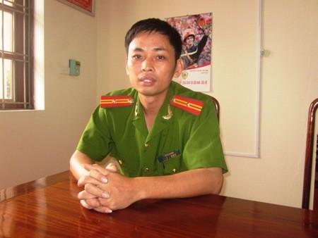 Thiếu tá Võ Đăng Khoa.