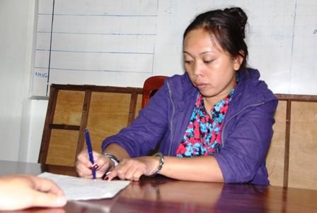 Lâm Thị Kim Hồng Hạnh khai báo tại Cơ quan công an