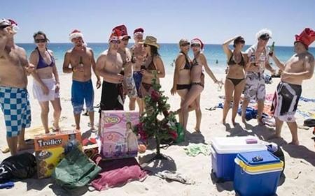 Dịp Noel ở Châu Úc vào mùa hè nên người dân có thói quen ăn những món nguội