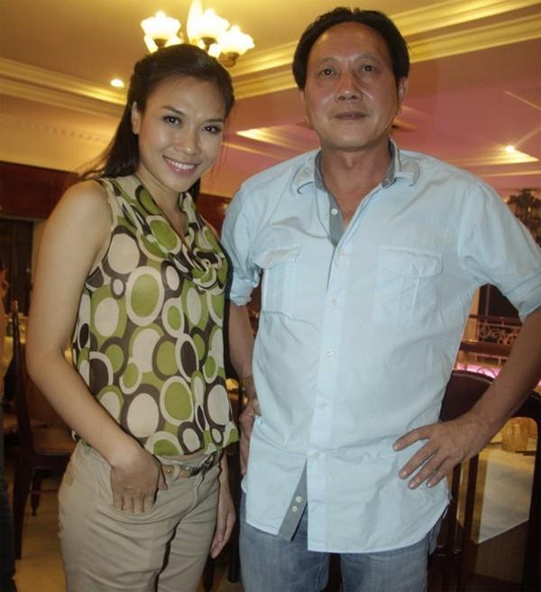 Mỹ Tâm và ông Dương Ngọc Minh.