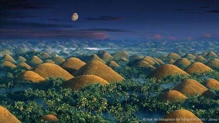 Những ngọn đồi sôcôla ở Philippines: