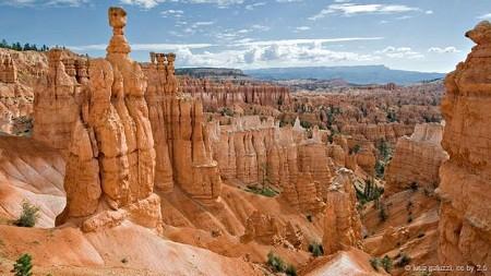 Công viên quốc gia Bryce Canyon ở bang Utah, Mỹ: