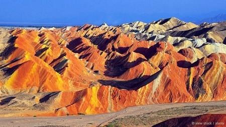 Công viên địa chất Trương Dịch Đan Hà, Trung Quốc:
