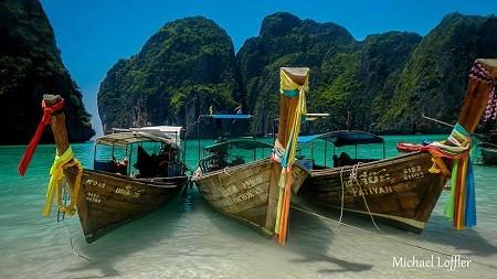 Vịnh Maya, Thái Lan