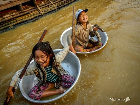 Hồ Tonle Sap, Campuchia