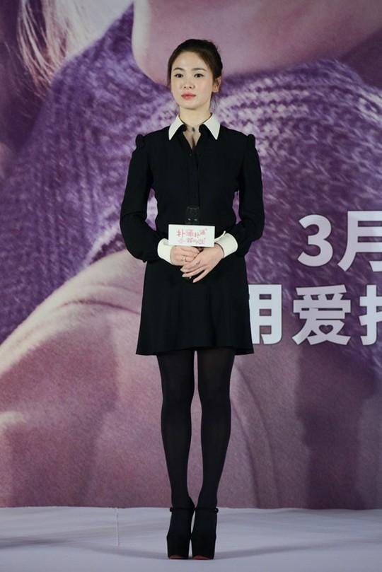 Song Hye Kyo trẻ hơn tuổi 34 rất nhiều